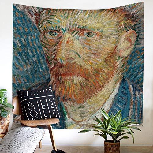 KHKJ Ölgemälde Wandteppich Wandbehang Banner Flagge Decke Wandtuch Böhmische Mandala Wandteppiche Wandteppich A3 95x73cm