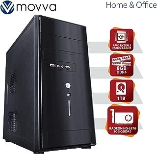 COMPUTADOR LITHIUM AMD RYZEN 5 HEXA CORE 2600 3.4GHZ 19MB CACHE MEM 8GB HD 1TB VGA HD 6570 1GB GDDR5 FONTE 500W LINUX - MOVVA