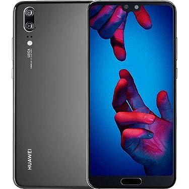 Huawei P20 128GB Single-SIM Factory Unlocked 4G/LTE Smartphone (Black),(GSM Only, No CDMA)