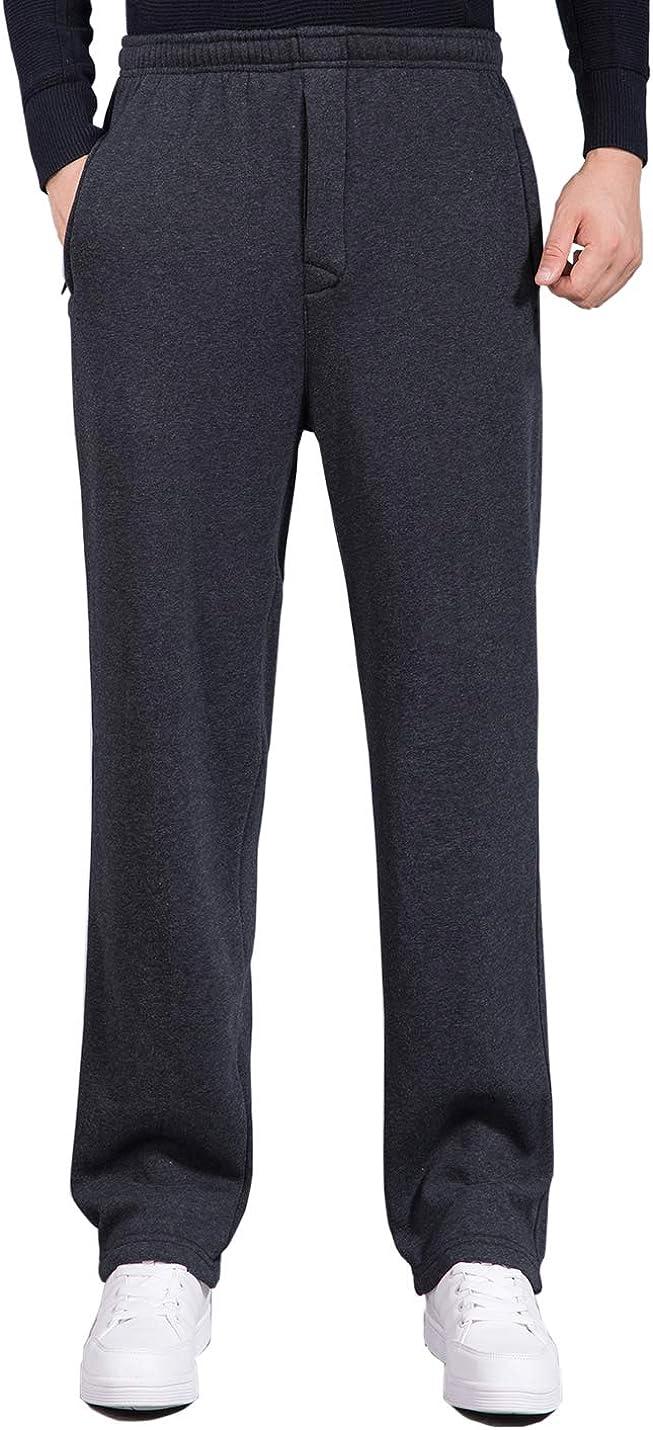 Locachy Men's Casual Cotton Jogger Waist Elastic New product!! San Francisco Mall Draws Sweatpant