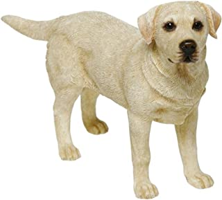 Leonardo Collection Labrador Ornament Dog, Stone, Gold