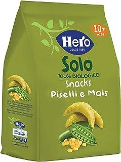 Hero Solo Snacks Infantiles - Pack de 6 x 50 g (Total: 300 g)