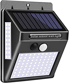 Solar Lights Outdoor 100 Led Solar Motion Sensor Wall Lights Wireless Solar Powered IP65 Waterproof Solar Security Lights