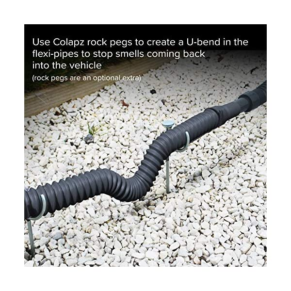 Colapz Caravan Accessories - Flexi Waste Collapsible Flexible and Extendable Caravan Waste Pipe System 8