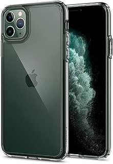 【Spigen】 iPhone 11 Pro Max ケース 6.5インチ 対応 全面 クリア 米軍MIL規格取得 耐衝撃 カメラ保護 衝撃吸収 Qi充電 ワイヤレス充電 ウルトラ・ハイブリッド 075CS27135 (クリスタル ・クリア)