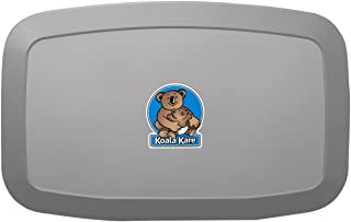 Koala Kare KB200-01 Horizontal Wall Mounted Baby Changing Station, Grey