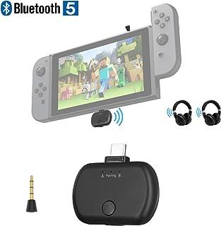 Zeerkeer Mini Adattatore Bluetooth USB Ricevitore e trasmettitore Bluetooth 2 in 1 Bluetooth 5.0 Ricevitore TV Computer Wireless Car Audio Bluetooth Adattatore Plug And Play