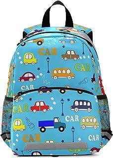 OREZIToddler Backpack for Boys Girls Preschool Bag with Safety Leash