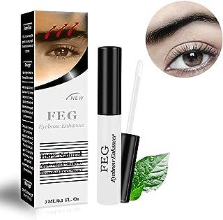 1Bottle Eyebrow Growth Serum Intense Lash And Brow Growth Essence Natural Eyebrows Enhancer Safe Ingredient Eyebrow Rapid Growth Liquid(3ml/0.1oz)