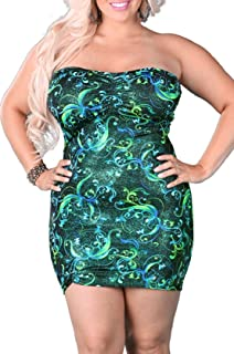 Delicate Illusions Womens Plus Size Gothic Velvet Dress