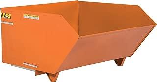 Vestil H-50-HD-ORG-C Self Dumping Hopper Hd, 0.5 cu. yd, 6000 lb. Capacity, 51.25