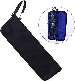 OUNONA Super Water-Absorbent Umbrella Bag Case Zippered Closure Portable Pouch (Blue)