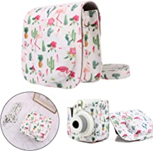 Qisuw Camera Bag for Fujifilm Instax - Fashion Camera Bag Cactus PU Case Protector for Fujifilm Instax Mini 8/8+/9 New