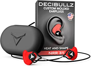 Decibullz Custom Molded Earplugs Pro Pack (Red)