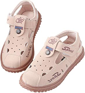 Hopscotch Baby Boys PU Tstrap Sandals in Nude Color