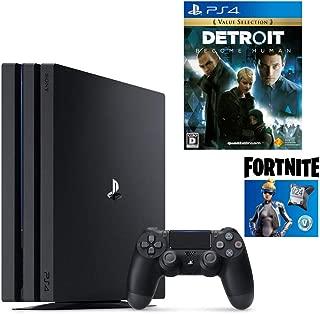 【プライムデー特別価格】PlayStation 4 Pro フォートナイト ネオヴァーサバンドル + Detroit: Become Human セット (ジェット・ブラック) (CUH-7200BB01)