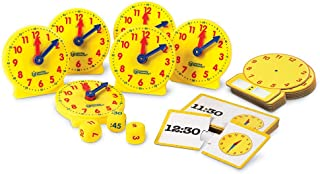 Learning Resources LER3214 About Time! Small Group Activity Set