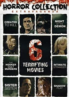 Horror Collection Extravaganza: 6 Terrifying Movies (Created to Kill / Shadow Play / Intimate Stranger / Night of the Demon / The Hooker Cult Murders / and more)