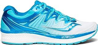 Saucony Women's Triumph ISO 4 Sneaker, White/Blue, 095 M US