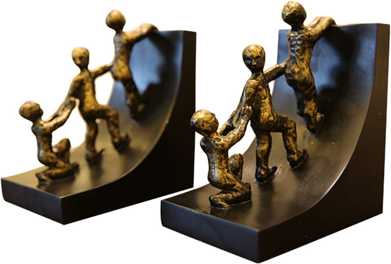 ZLQBHJ Latest item Book Shelf Bookcase shipfree Study Creative Boo Bookends Ornaments