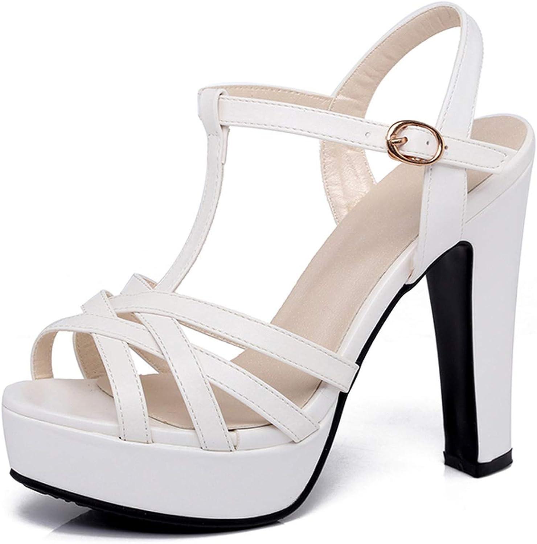 Gladiator Sandals Women Brand Design Women Sandals high Heel Sandals women Fashion Sandale,White,4