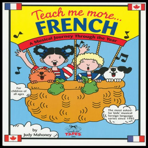 Teach Me More French audiobook cover art