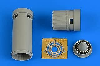 Aires 1:48 IAI Kfir C2/C7 Exhaust Nozzle for AMK - Resin Detail Set #4734