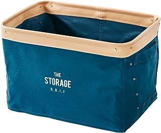 インナーボックス カラーボックス用 The Storage - ザ•ストレージ - ネイビー 幅37×奥行25×高さ25cm LW-1835NV インターフォルム(Interform) LW-1835NV