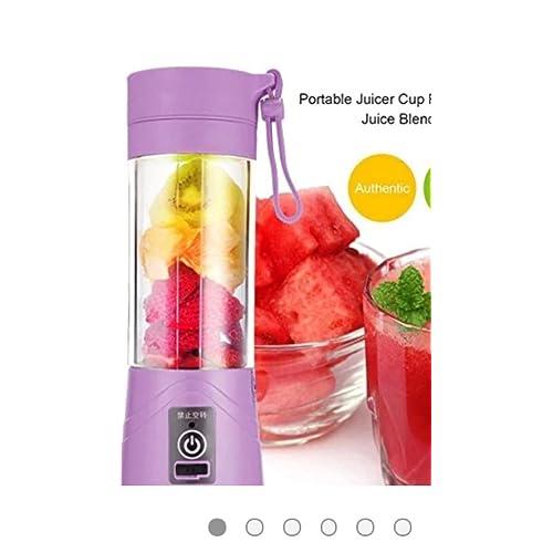 TIRU TRADERS Portable USB Electric Juicer, Blender Drink Bottle Cup (380 ml)