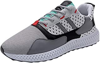 Men's Mixed Color Matching Street Cool Culture Mesh Breathable Comfortable Lightweight And Practical Sneakers Casual Modern Professional Design Wild Running Shoes