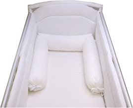 Baby-idea Washable Hypo-Allergenic Aloe Vera Anti-Choking Cushion for Cot