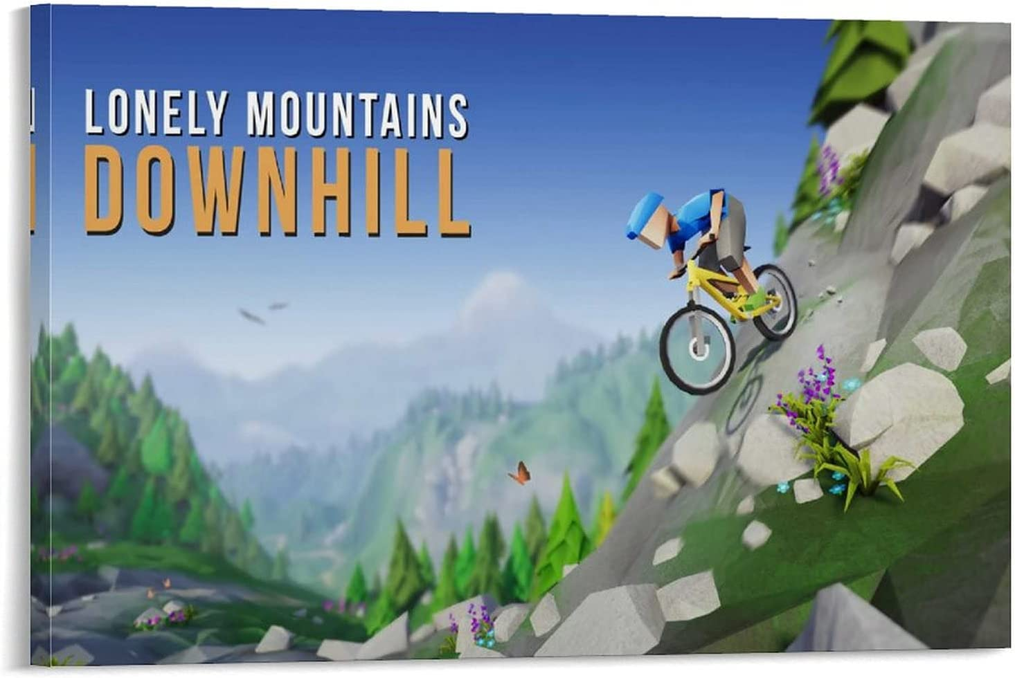 ASDSN Lonely Mountains Downhill Decorative Jacksonville Credence Mall Painting Poster Offic