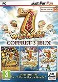 7 Wonders  + 7 Wonders : treasures of seven + 7 Wonders : Magical Mystery