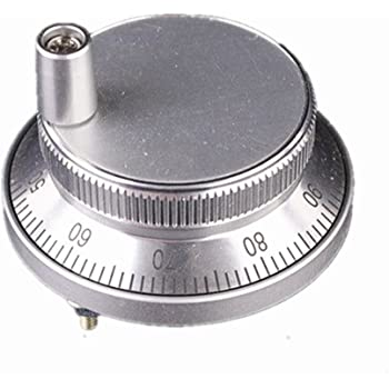 Silber 6Terminal 100PPR Elektronischer Handrad-Handimpulsgenerator Drehgeber CNC
