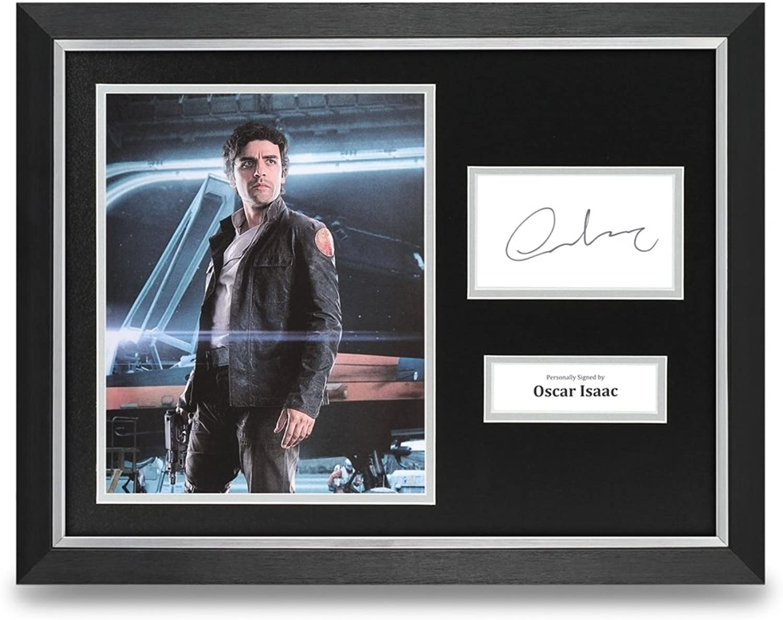 Oscar Isaac Signed 16x12 Framed Photo Display Star Wars Autograph + COA