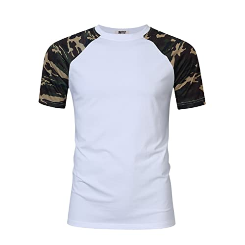 MrWonder Men s Casual Slim Fit Raglan Baseball 3 4 Sleeve 3 Button Henley T- 6f67b772f