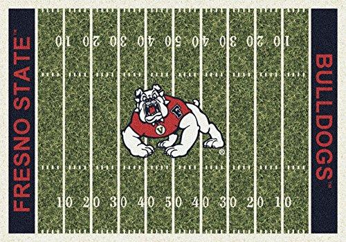 American Floor Mats Cal State Fresno Bulldogs NCAA College Home Field Team Area Rug 10