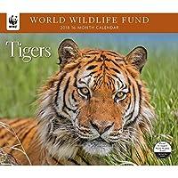 2018 Tigers WWF Wall Calendar [並行輸入品]