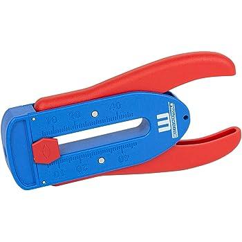 Weicon 51000002 Pelacables de precisión S/Cable de 0.16-0.8 mm Ø/Pelado rápido, rojo/azul: Amazon.es: Bricolaje y herramientas