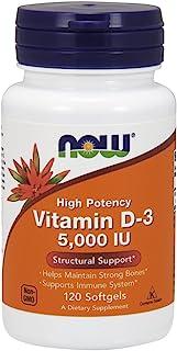 NOW Foods Vitamin D3 5000 Iu (360 (120X3))