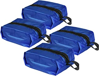 HiDay 4pcs Portable Waterproof Travel Shoes Bags Organizer Pouch with Zipper Closure