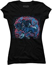 Cerberus Hades Three Headed Watchdog Juniors' Graphic T Shirt