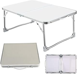Mini Coffee Tables Aluminum Picnic Portable Party BBQ Outdoor Folding Desk Multifunction Outdoor Travel Camping Table 60x40x26CM