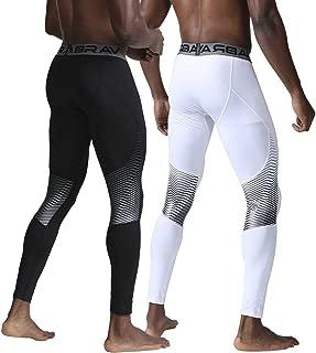 SpeverdrMen'sCompressionPantsCoolDrySports BaselayerGymWorkoutRunningUnderwear Tights