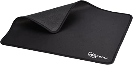 Rosewill Pro Gaming Mouse Pad/Mat, Stitched Edges, Ultra Thick, Silky Smooth Surface - Black (RGMP-500)