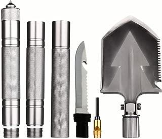 LIIIHOOO Outdoor Hiking Military Survival Shovel, Folding...