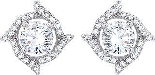 izaara 92.5 Sterling Silver Stud Earrings For Women & Girls