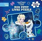 REINE DES NEIGES - Mon Petit Livre Puzzle - 5 puzzles 9 pièces - Joyeuses fêtes avec Olaf - Disney