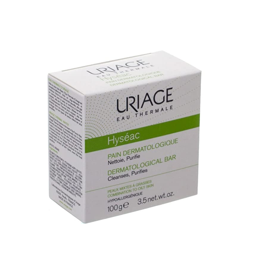 コーヒー親密な件名Uriage Hyseac Cleansing Bar 100g [並行輸入品]