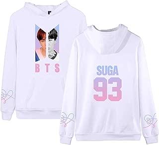 BTS Hoodie Love Yourself Answer Tear Her Jung Kook SUGA Jimin V Sweatershirt